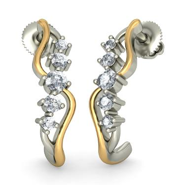 The Twisting Tango Earrings