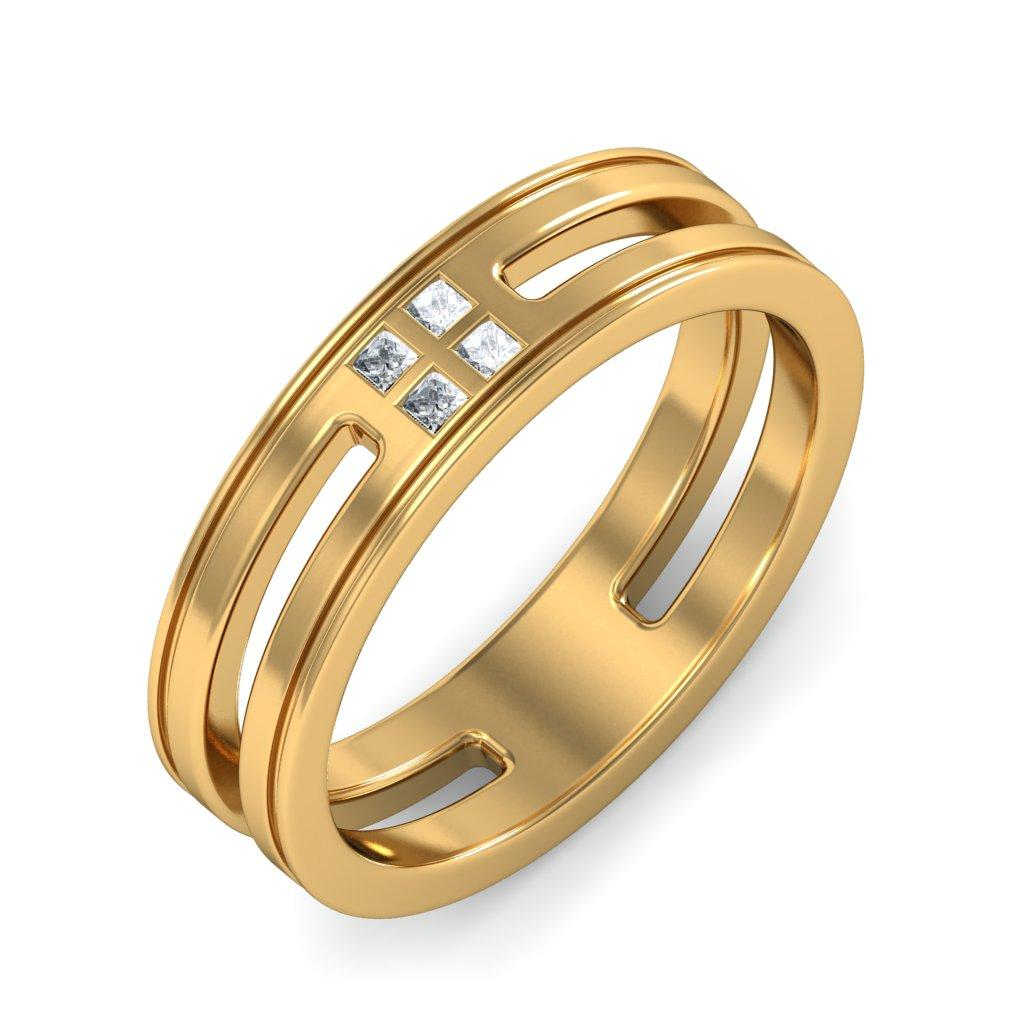 Wedding Rings For Men India: Masculine And Attractive Gold Rings For Men