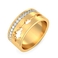 The Sparkle Of Love Ring For Her