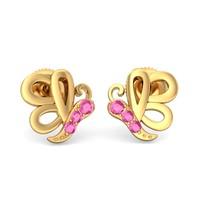 The Pretty Butterfly Earrings For Kids