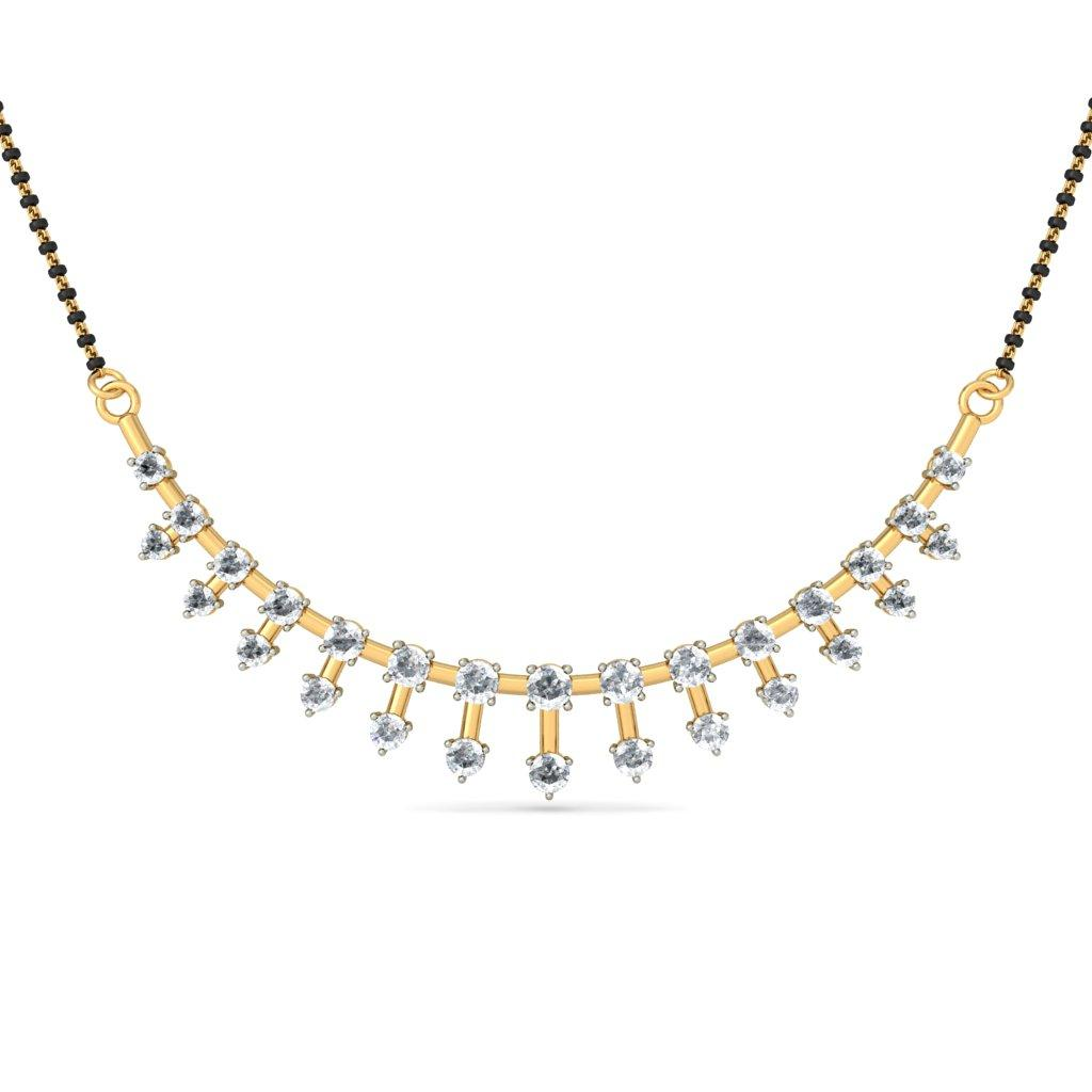 The gallery for --> Simple Gold Mangalsutra Design