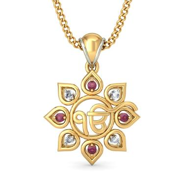 The Satnam Pendant