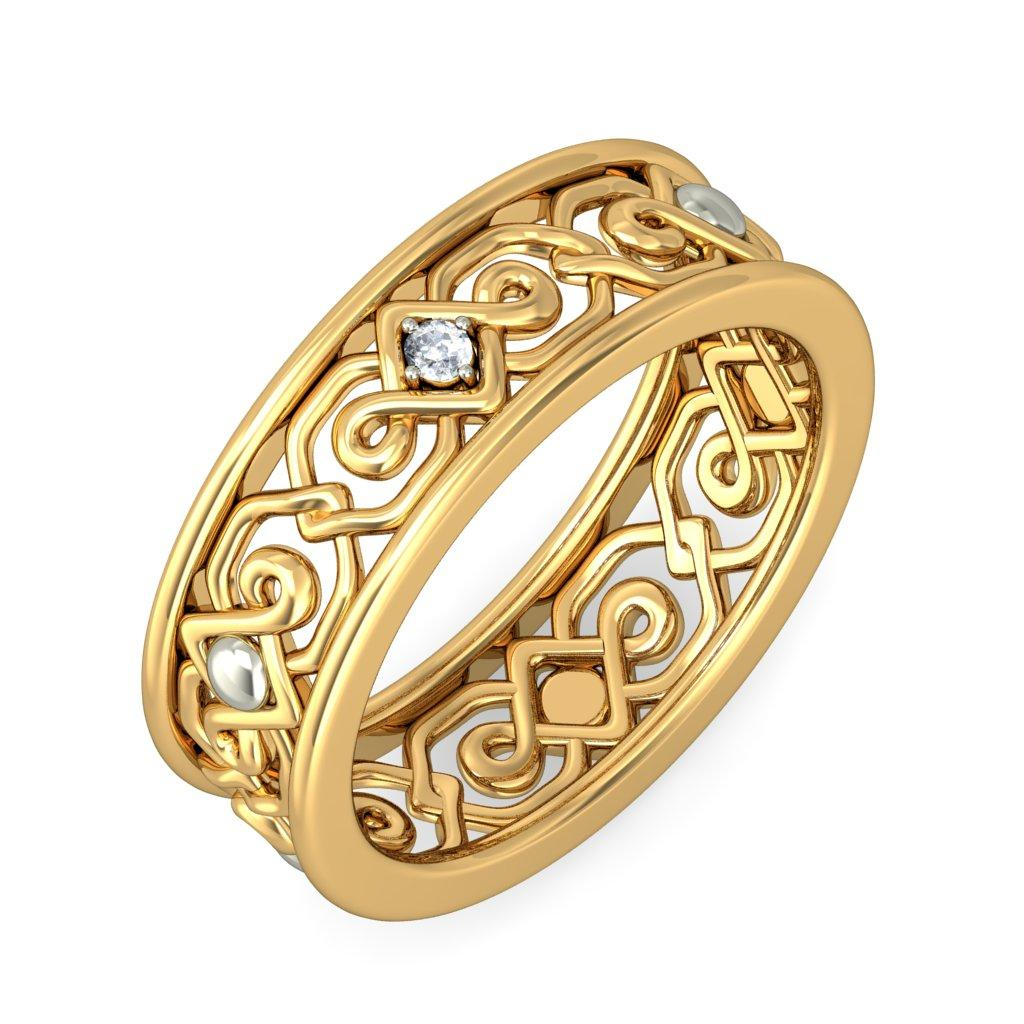 finger ring designs in gold for men