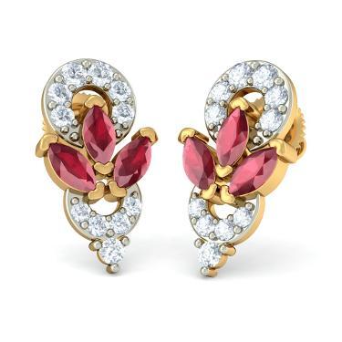 The Vivid Majestic Earrings
