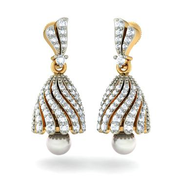 The Jeweled Zahira Jhumki