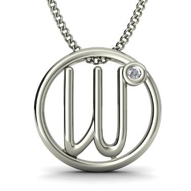 The Italia W Pendant