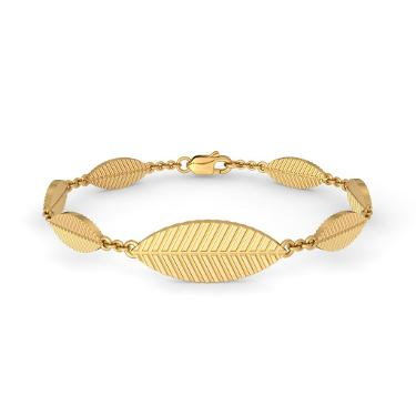 The Gold Leaf Bracelet