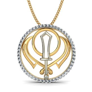 The Khanda Pendant