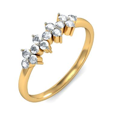 The Austere Floral Ring