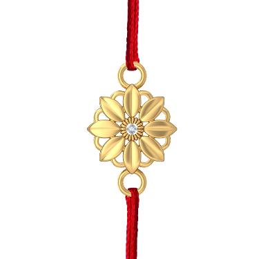 Gold rakhi at best Price