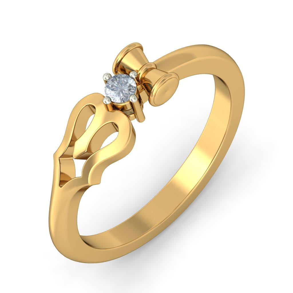 The Divine Trishool Ring For Her