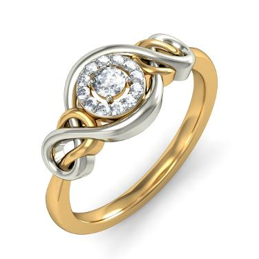 Gold Princess Cut Ring For Every Woman MyJewelryDeals Sterling