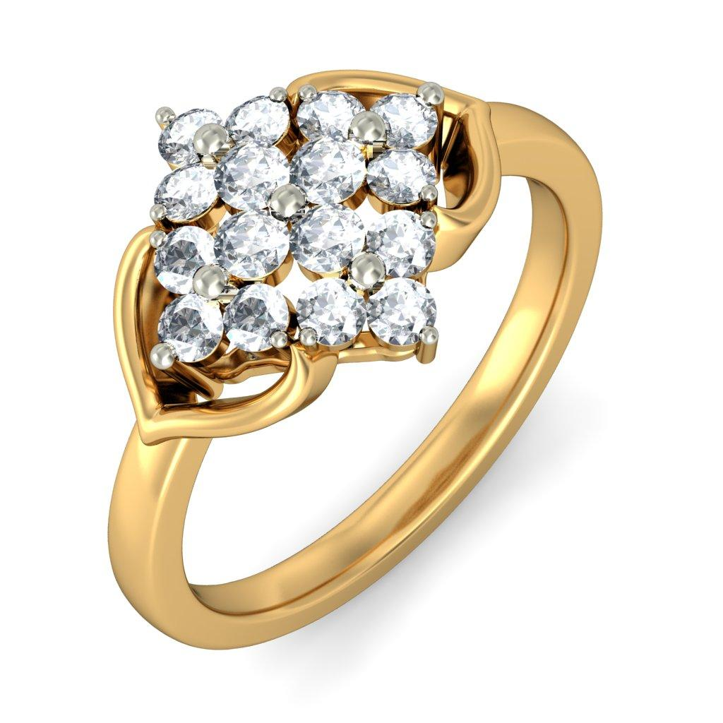 The Floral Classic Ring