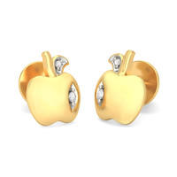 The Apple Orchard Earrings For Kids