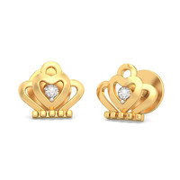 The Crown Jewel Earrings For Kids